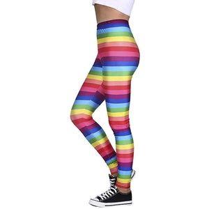 Trendy Design Workout Leggings - Fun Fashion Graph